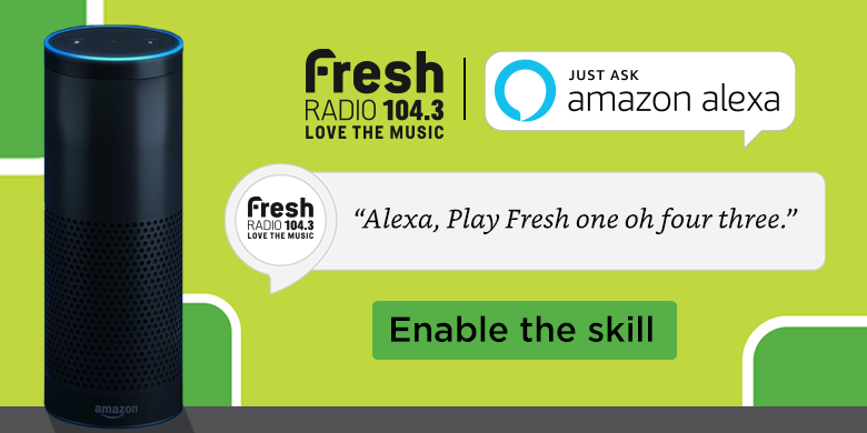 Alexa – 104.3 Fresh Radio